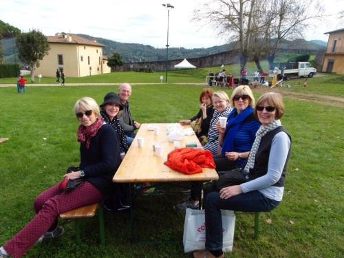 A day out with the Perth Girls - Judi, Geri, Jim Sandra, Debra, Jan & June